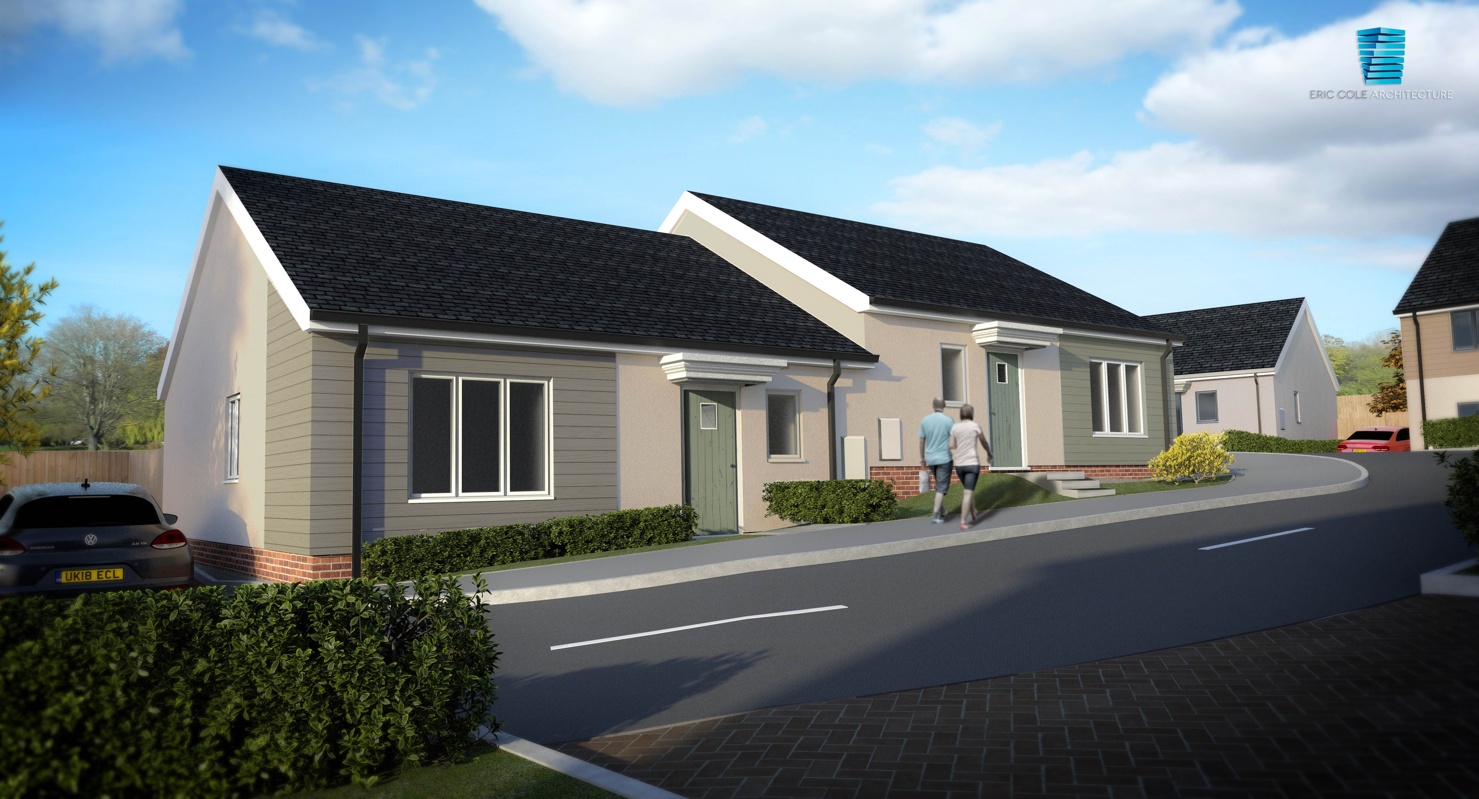 Sparkwell CGI - Bungalow